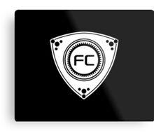 FC Rotary design Metal Print