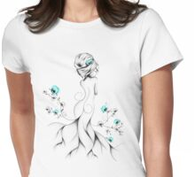 Poppy Poem Womens Fitted T-Shirt