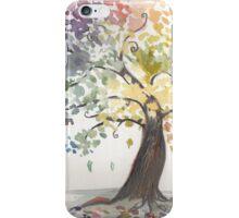 Watercolour tree iPhone Case/Skin