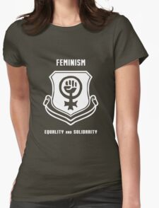 Feminism Shield -- Equality and Solidarity T-Shirt