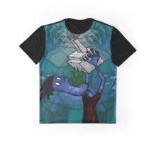 Man Drinking Factory Sludge Graphic T-Shirt