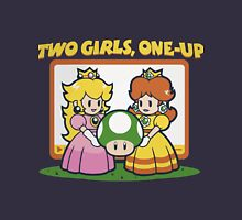2 Girls, One-Up Unisex T-Shirt