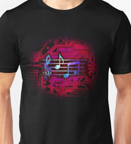 Circuit Notes Unisex T-Shirt