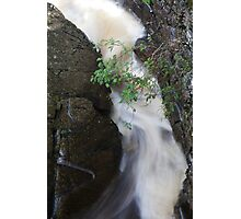 a channel through the rocks Photographic Print
