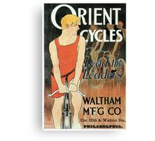 Edward Penfield bicycles ad Lead the leaders American golden age Canvas Print