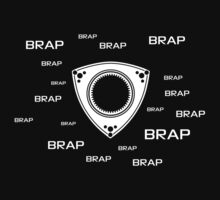 Rotary Brap (the noise a rotary engine makes) Kids Tee