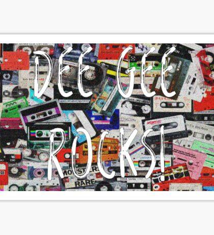 Dee Gee Rocks! Sticker