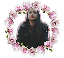 The 100 - Octavia - Flowers Photographic Print