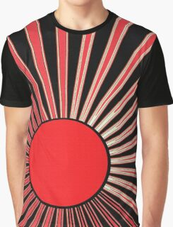 RED SUN RISING Graphic T-Shirt