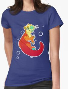 Otterly Amazing! Womens Fitted T-Shirt