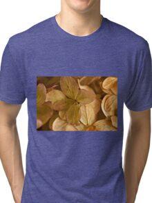 Hydrangea Petals - Macro  Tri-blend T-Shirt