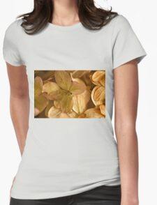 Hydrangea Petals - Macro  Womens Fitted T-Shirt