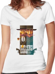 For A Few Dollars More movie poster Women's Fitted V-Neck T-Shirt