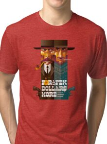 For A Few Dollars More movie poster Tri-blend T-Shirt