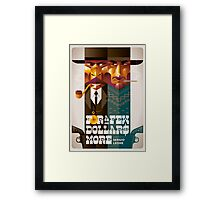 For A Few Dollars More movie poster Framed Print
