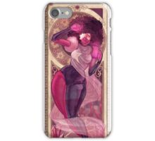 Garnet Mucha iPhone Case/Skin