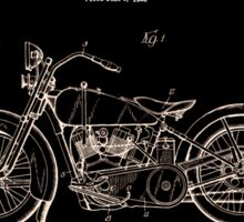 Harley Davidson Patent 1928 Sticker