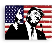 Trump the Patriot? Canvas Print