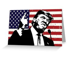 Trump the Patriot? Greeting Card