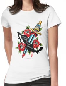 Mexico Lindo y Que Herido Womens Fitted T-Shirt
