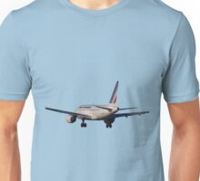 Airbus A320 from back Unisex T-Shirt