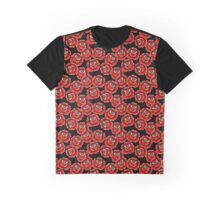 Roses Pattern Graphic T-Shirt