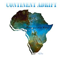 Continent Adrift Photographic Print