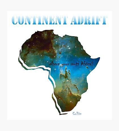 Continent Adrift Photographic Print