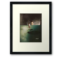 Wandering online for 160 years Framed Print