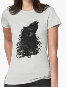 Dark Night Womens Fitted T-Shirt