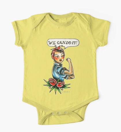 We Can Do It! One Piece - Short Sleeve