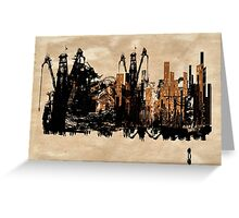 Down Town Greeting Card