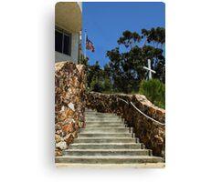 Sunday Stairway Canvas Print