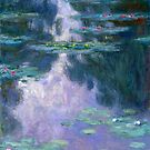Water Lilies (Nympheas) 1907 Claude Monet Fine Art by Vicky Brago-Mitchell