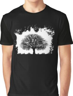 Contrast Graphic T-Shirt