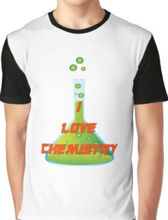 I Love Chemistry Graphic T-Shirt