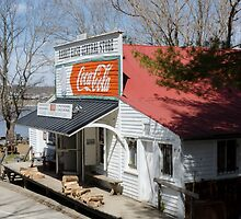 Rabbit Hash Store-Front View Angle by Mary Carol Story