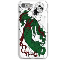 Flying Screaming Skull With Female Body iPhone Case/Skin