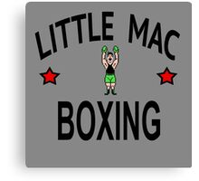 Little Mac Boxing --- Punch Out Roots of Fight Canvas Print