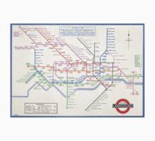 LONDON UNDERGROUND MAP 1933 HARRY BECK Kids Tee