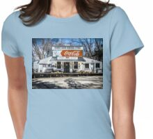 Rabbit Hash Store-Front View Womens Fitted T-Shirt
