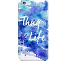 Watercolor Thug Life iPhone Case/Skin