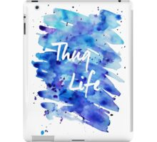 Watercolor Thug Life iPad Case/Skin