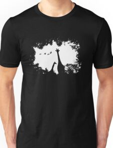 Giraffe Mother and Child Unisex T-Shirt