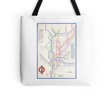LONDON TUBE MAP 1933 HENRY BECK Tote Bag