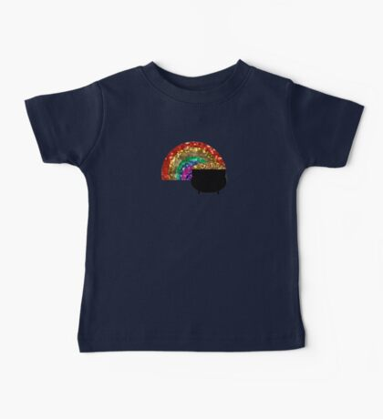 rainbow pot o' gold Baby Tee