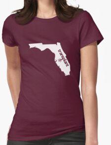 Florida Transplant FL Womens Fitted T-Shirt