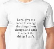 Lord Coffee Wine Unisex T-Shirt