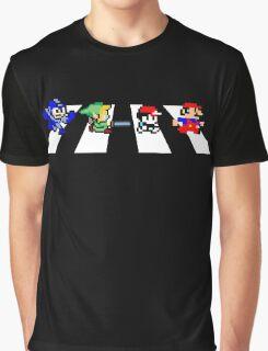 8bit Road Graphic T-Shirt