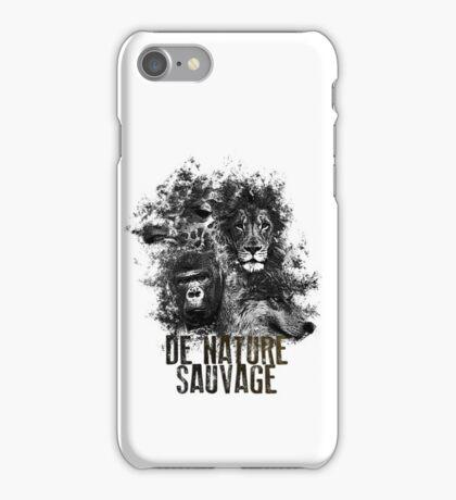 De Nature Sauvage  iPhone Case/Skin